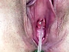 KATHERINE BROWN.. On display while pissing outdoors... LOVE HER HUGE POON!