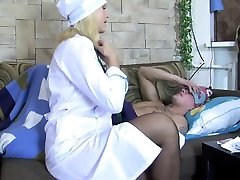 Russian mature nurse pulverize with pac Elsie from dates25com