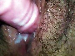 Close Up Hairy Fuckbox Creaming
