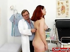 Enormous-boobed matured getting a gyno