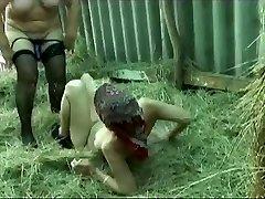 Grandma Lesbos Down on the Farm