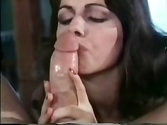Bridgette Monet oral job a guy with her black lingeries on