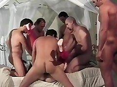 Preggie group-fucked