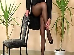 One More classic pantyhose reel