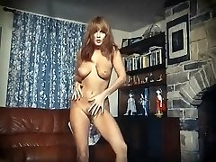 I LOVE ROCK'N'ROLL - vintage perfect breasts striptease dance