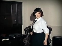 WHOLE LOTTA ROSIE - vintage immense tits schoolgirl undress dance