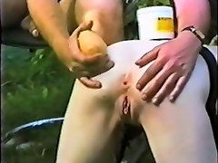 Submissive slave maid butt distroyed