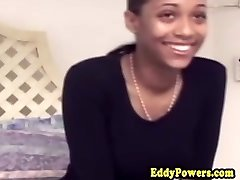 Vintage ebony amateur sweetheart cockriding