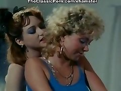 Ginger Lynn Allen, Lois Ayres, Gina Carrera in old-school hook-up