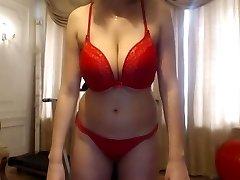 Slutty sexy history teacher on web cam