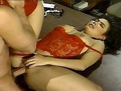 Azijski Vintage pussy donje rublje вдалбливают