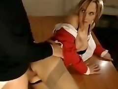 A short looped pin of a tutor taking ass fucking from a student.