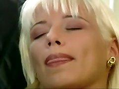 Blond Mega-slut Fucking in a Field