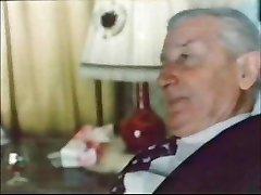 Elderly Dude In Suit... Jean villroy gets A Fellate Job...Wear-Tweed