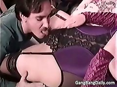 Pregnant mama sucks many hard knobs part5
