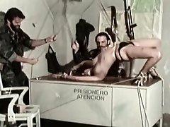 Crazy homemade BDSM, Military sex flick