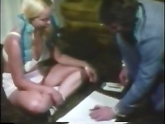 Nice classic ash-blonde fucked and face creamed