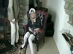 Fabulous first-timer Stockings, Fetish sex clip