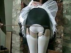 Fabulous inexperienced Stockings, Fetish sex clip