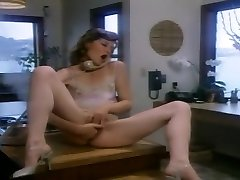 Hypatia Lee Deep Throats A Pink Cigar In The Office
