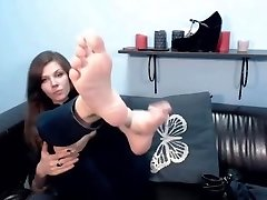 audreyorchid demonstrate soles on lj from Camshoots
