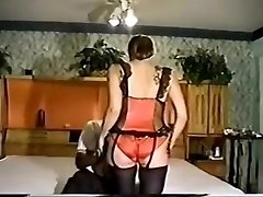 Amazing homemade Retro, Stockings xxx scene