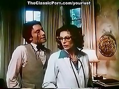 Mischievous wonderful and busty vintage doctor sucks strong dick of naughty boy