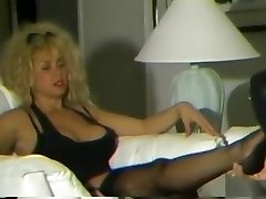 Vintage femdom face-sitting trampling