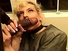 Mature Blond Creamed In Her Taut Butt