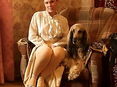 The lady with the dog