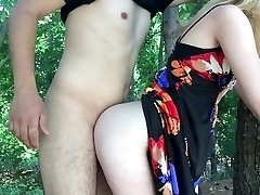 Wife fucking hubbies friend in the park