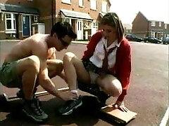 British Schoolgirl Likes Elder Man