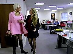 XXXJoX Lana Cox Secretary Obliged By Boss