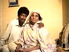 Pakistani Amateur couple home made vintage