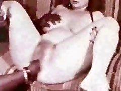 Outstanding vintage creampie