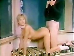 Retro woman Screwed by Gym Coach