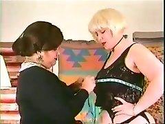 Classic plus-size lesbians