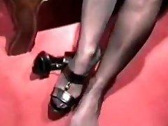 Barbara - Stocking & Footjobs