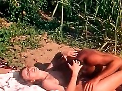 Crazy fuck-a-thon with sexy and busty blondie in exotic place of africa