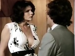 Veronica Hart, Lisa De Leeuw, John Alderman in old-school pornography