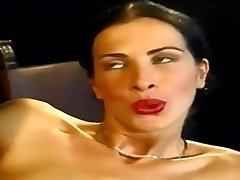 Anal... Super-sexy Slim Italian Honey Wambammed On Stage... Vintage