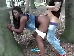 Black Wife Fucked Outdoor By White Dick Cuckold Film