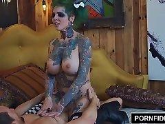 PORNFIDELITY - Sydnee Perverse Punk Rock Internal Cumshot