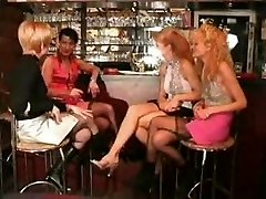 French mature blonde - bang-out group and anal
