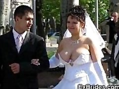 Real Brides Flash Their Cootchies!