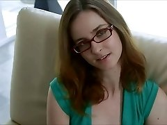Nubile In Glasses Gives A ORAL PLEASURE