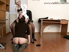 RuthlessMistress.com - Office employee was seduced to be a victim
