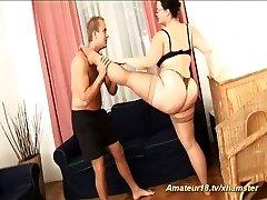 extraordinary flexible fat step-mother