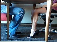 Feet Wank For Pay Hoist