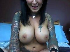 ginormous orbs tatoo's